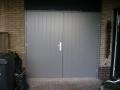 Garage kozijn met deuren